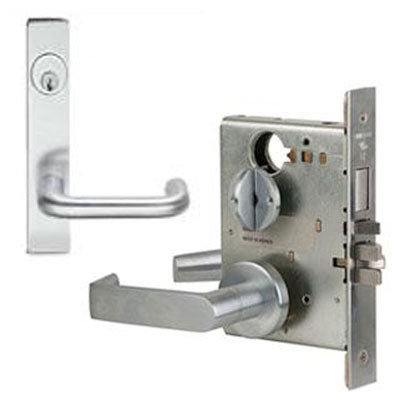 Schlage L9453P 03L Plate Trim Lever Mortise Lock With Cylinder