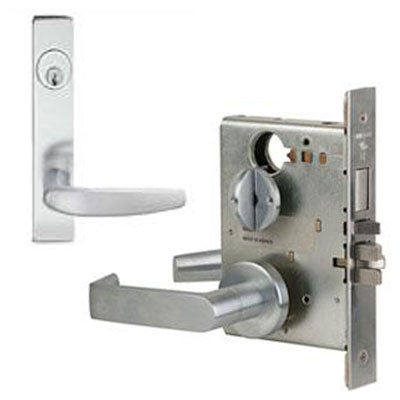 Schlage L9453P 07L Plate Trim Lever Mortise Lock With Cylinder