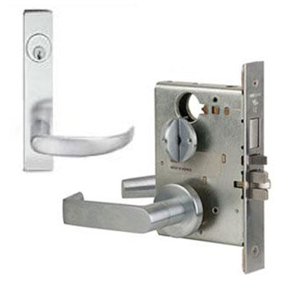 Schlage L9453P 17L Plate Trim Lever Mortise Lock With Cylinder