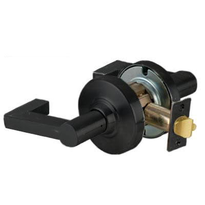 Schlage ND10S LON 622 Black Finish - Heavy Duty Passage Lever Lock with Cylinder