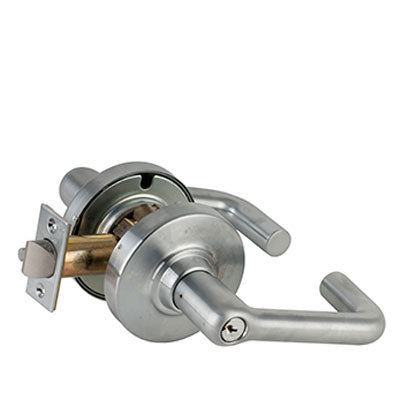 Schlage ND Series Tubular Lever Lock With Cylinder