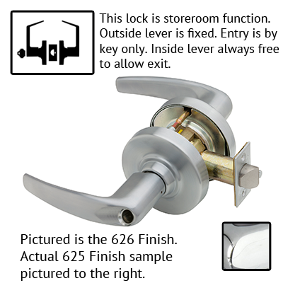 Schlage ND Series Athens Lever Lock Less Cylinder US Finishes