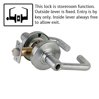 Schlage ND Series Tubular Lever Lock Less Cylinder US Finishes