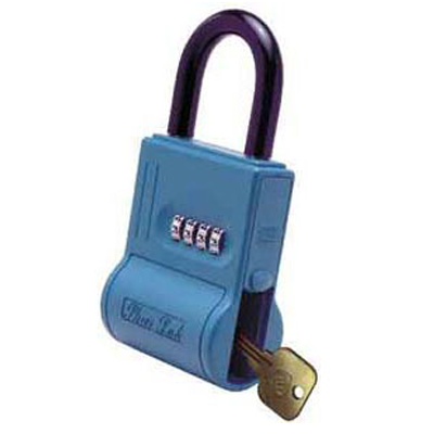 Padlocks 4 Less ShurLok SL100 Numeric Code Blue LockBox