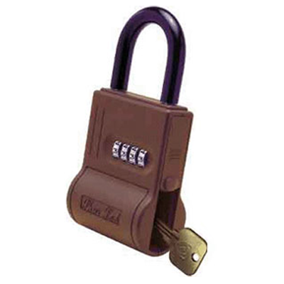 Padlocks 4 Less ShurLok SL300 Numeric Code Brick Red LockBox