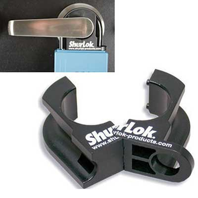 Padlocks 4 Less ShurLok SL170 Lever Grip For Lockboxes