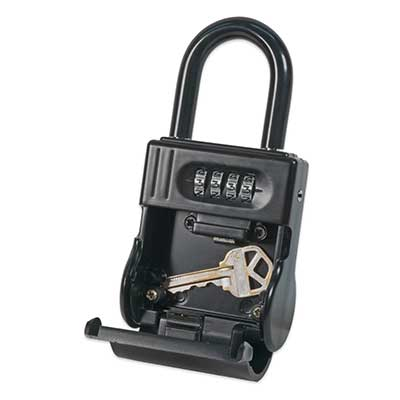 Padlocks 4 Less ShurLok II SL700 Front Loading Numeric Code Black LockBox