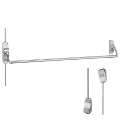 Von Duprin 8827EO US26D Brushed Chrome Finish Vertical Rod Panic Bar Exit Only