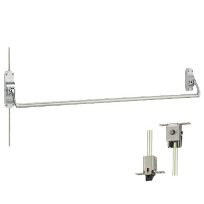 Von Duprin 8847EO US26D Brushed Chrome Finish Concealed Vertical Rod Panic Bar Exit Only