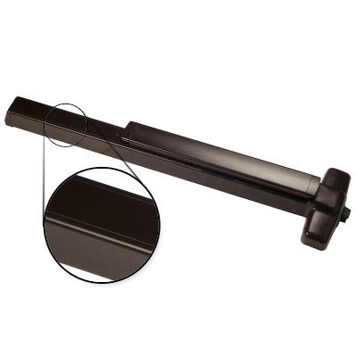 Von Duprin AX-PA98EO F 3 US10B Oil Rubbed Bronze Finish Three Foot Fire Rated Accessible Rated Panic Bar Exit Only With Pushpad Armor