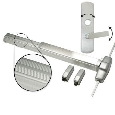Von Duprin 9927L Surface Mounted Vertical Rod Bar With Lever Trim