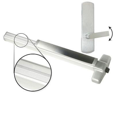 Von Duprin 99L BE Panic Bar With Blank Escutcheon Lever Trim