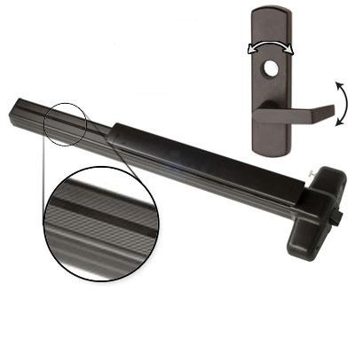 Von Duprin 99L-06 4 US10B LHR Oil Rubbed Bronze Finish Four Foot Panic Bar With 06 Left Hand Reverse Lever Trim