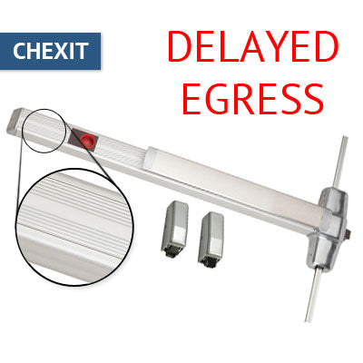 Von Duprin CX 9927EO Chexit Delayed Egress Vertical Rod Panic Bar Exit Only