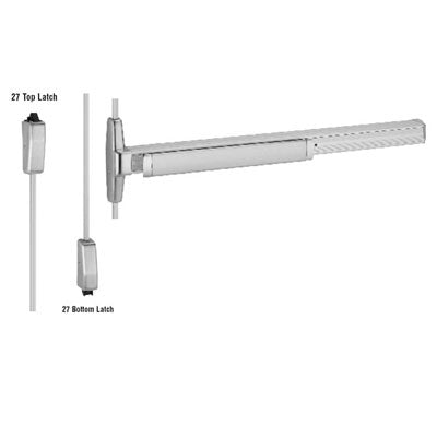 Von Duprin 3327A Surface Vertical Rod Panic Bar