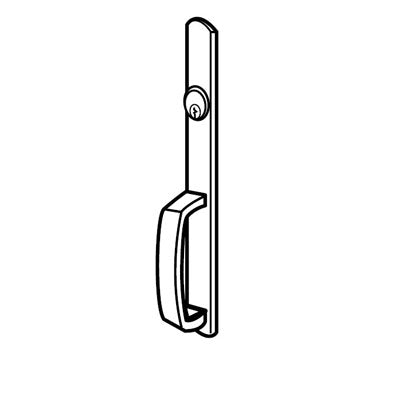 Von Duprin 608NL Narrow Design Night Latch Trim