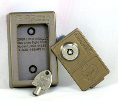 Wall Mounted Key Operated Lockbox