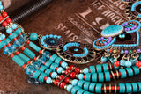 Boho Style Unique Bead Necklace