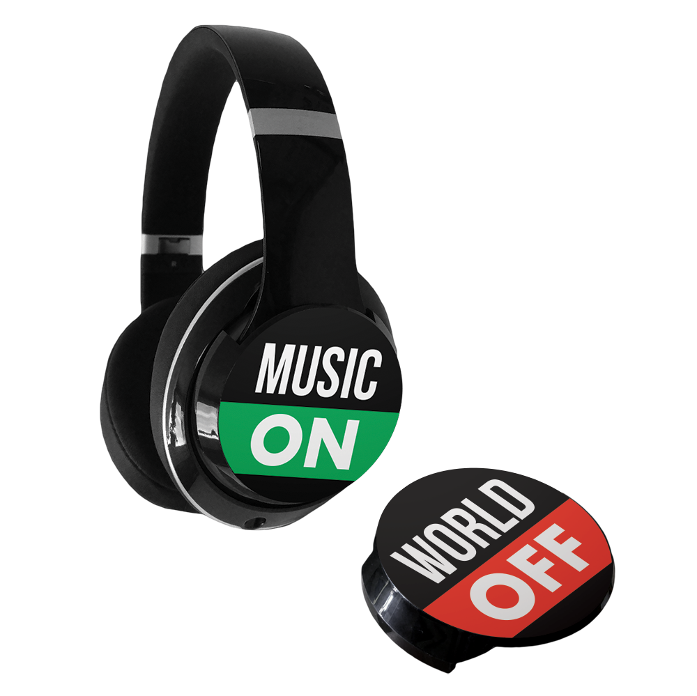dekaSlides for Beats - Music On / World Off
