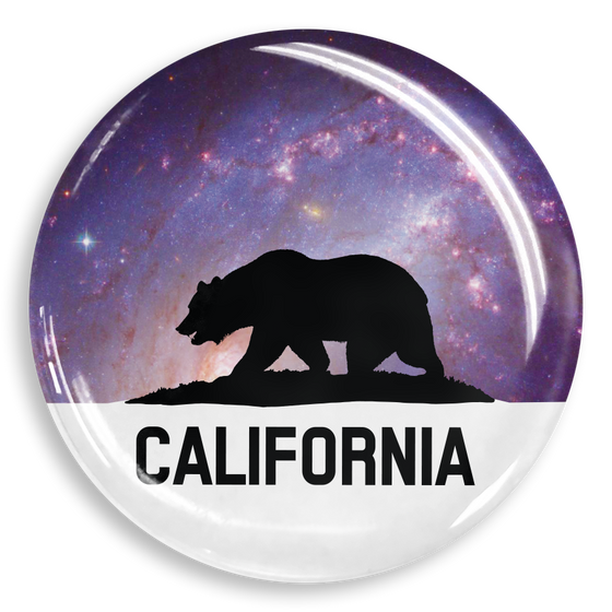 dekaPrints 3D Bubble Graphics for Popsockets - Cali Bear