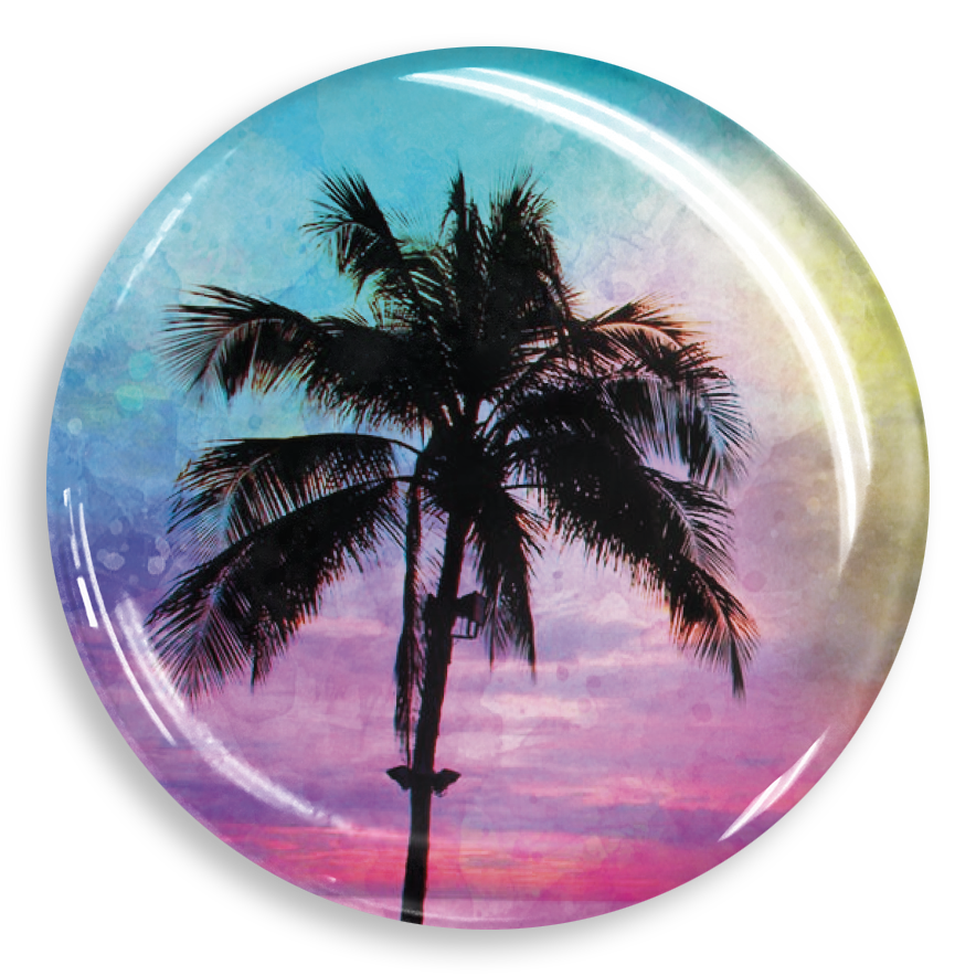 dekaPrints 3D Bubble Graphics for Popsockets - Palm Paradise