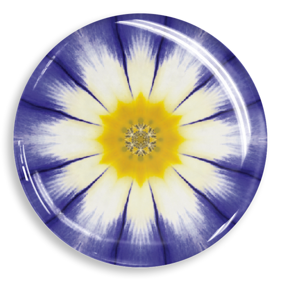 dekaPrints 3D Bubble Graphics for Popsockets - Purple Daisy