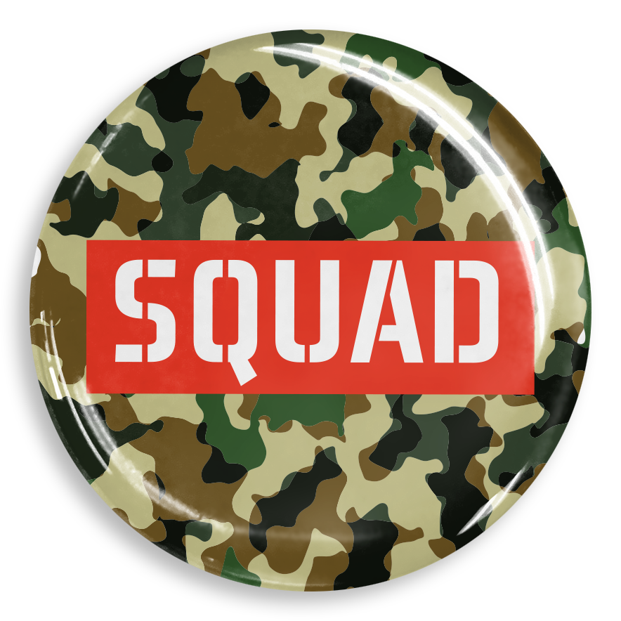 dekaPrints 3D Bubble Graphics for Popsockets - Squad Camo