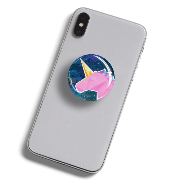 dekaPrints 3D Bubble Graphics for Popsockets - Geo Unicorn