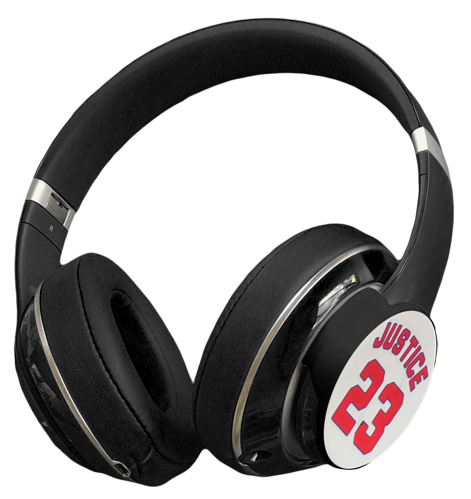 dekaSlides for Beats headphones - Justice 23 Black