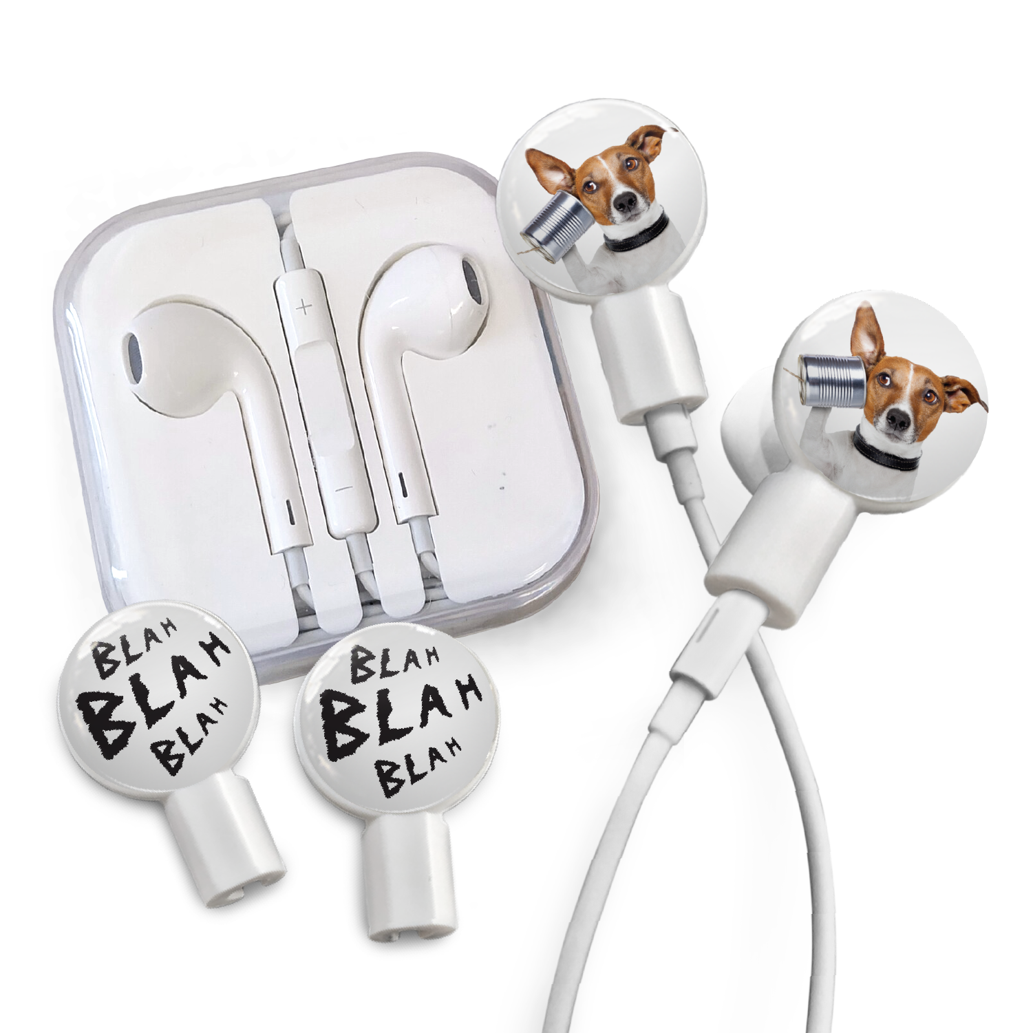 White earbuds apple - apple earbuds pack of 2