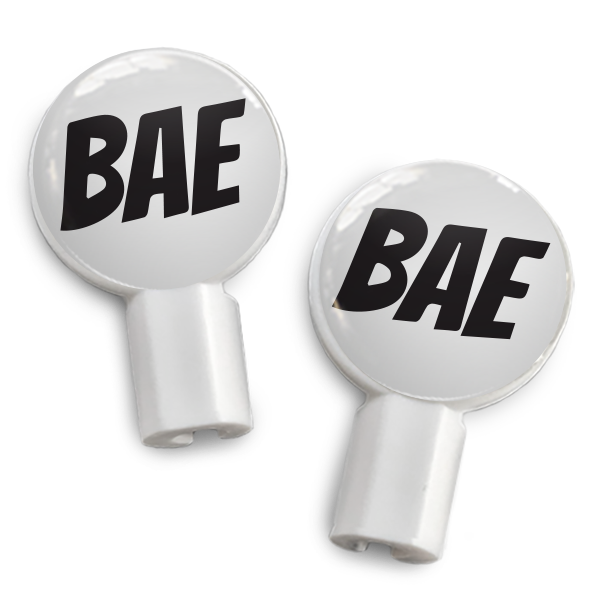 dekaSlides: Pair of Apple Earbud Covers - BAE