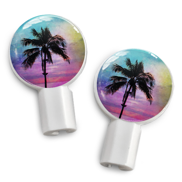 dekaSlides Slide-On Earbud Graphics - Palm Paradise