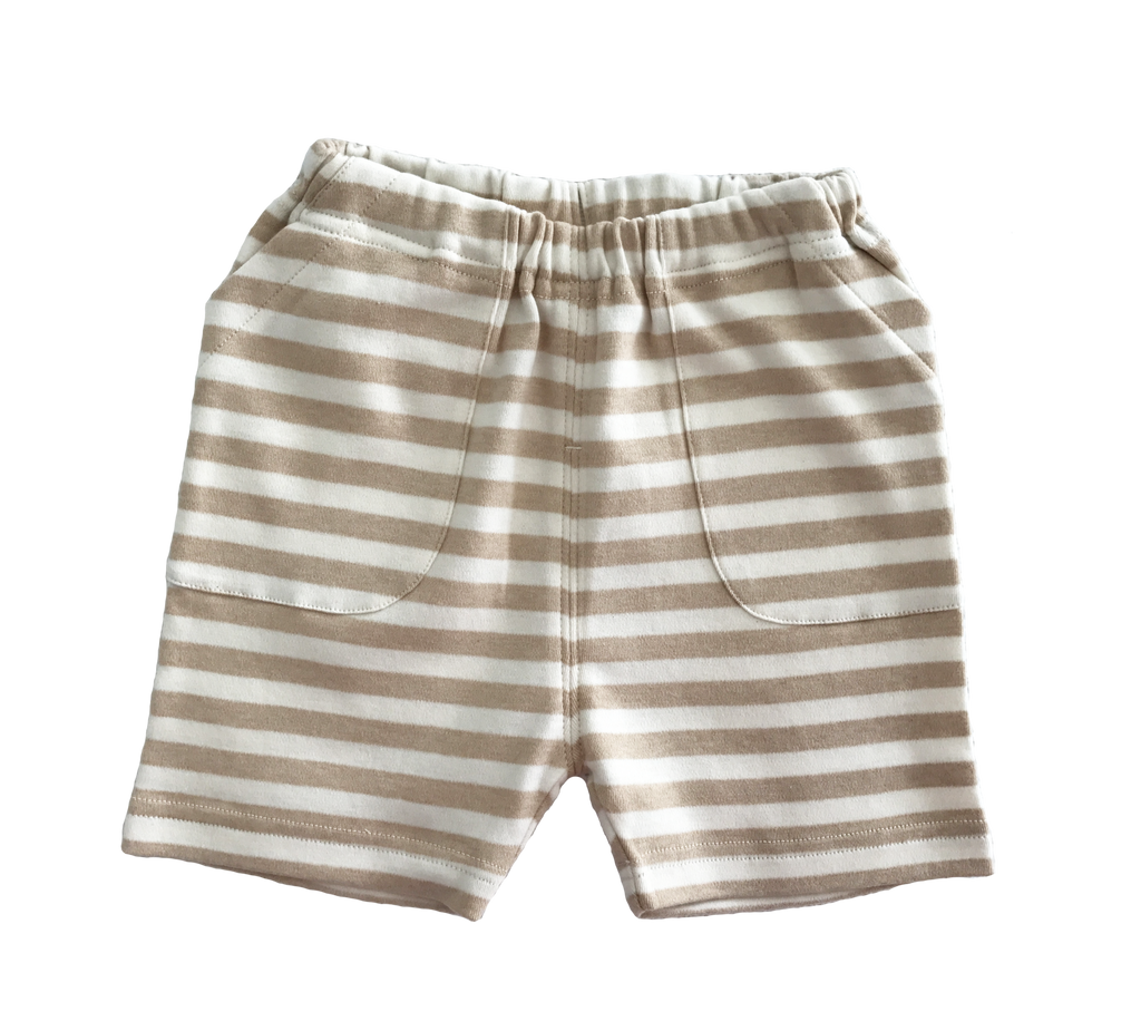 Organic Cotton 'Striped' Shorts
