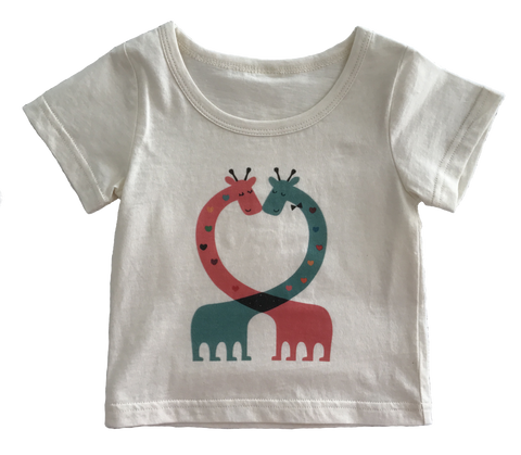 Organic Cotton 'Giraffe' T-Shirt