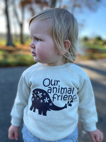 Organic Cotton 'Elephant' Jumper