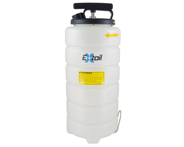 15-Liter Oil Extractor with Guage