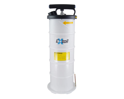6-Liter Oil Extractor with Gauge