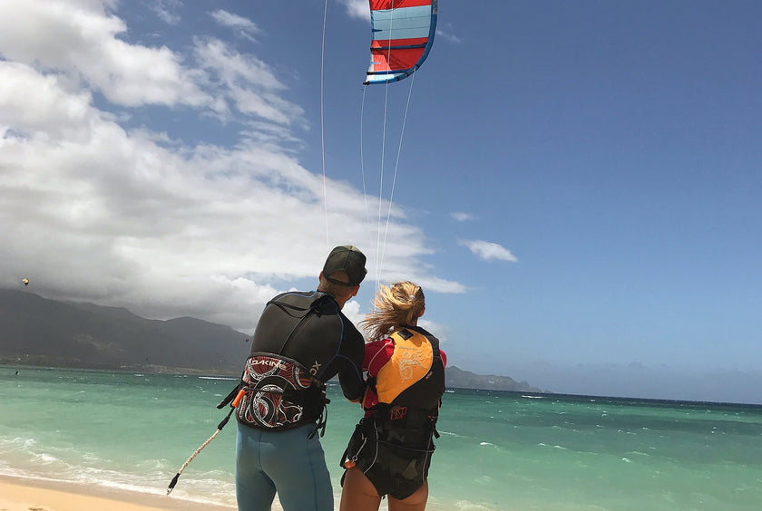 Beginner Maui Kiting Lesson