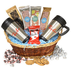 Mugs & Candy Gift Basket