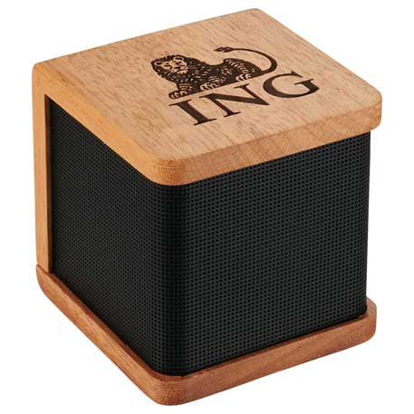 Mahogany Wood Bluetooth Speakers