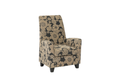 Balvano Chair Brown Flower