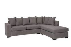 Bella 3 Seater with Chaise Taupe