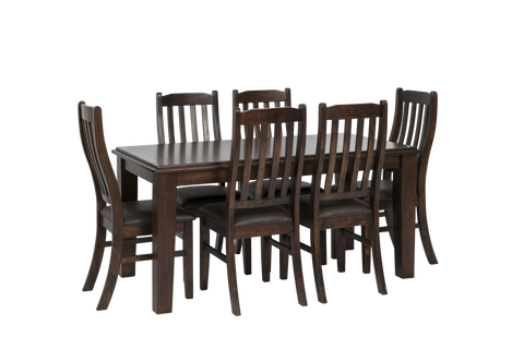 Brighton 7 piece dining suite furniture zone for Q furniture brighton co