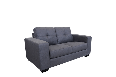 Castella 2 Seater Sofa Charcoal