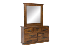 Homestead Dresser and Mirror