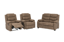 Jenny 2 Seater and 2 Recliners Lounge Suite