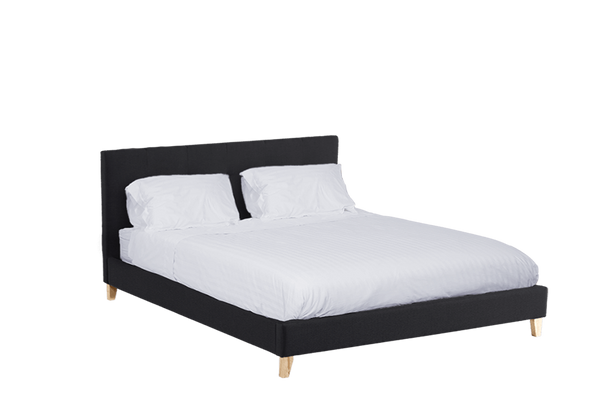 Homestead slat bed king furniture zone for Furniture zone beds