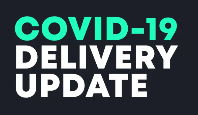 Delivery Lead Time Update 4/1/21