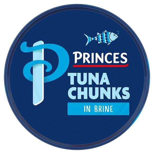Princes Tuna Chunks in Brine 145g (Drained Weight 102g) - Seasoned Logs Surrey