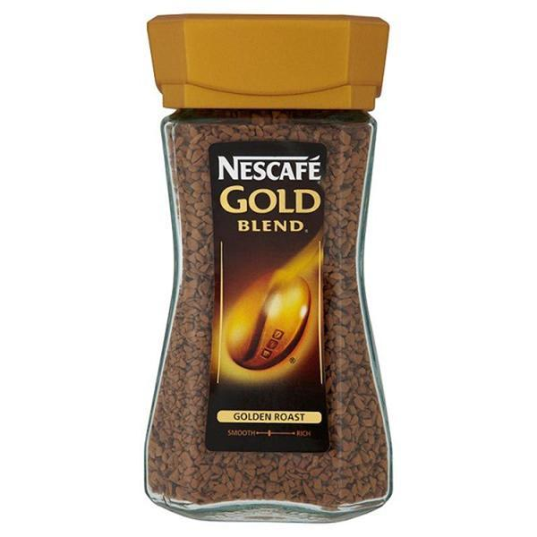NESCAFE GOLD BLEND Instant Coffee 95g - Seasoned Logs Surrey